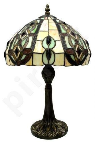 Vitražinė stalinė lempa 62548