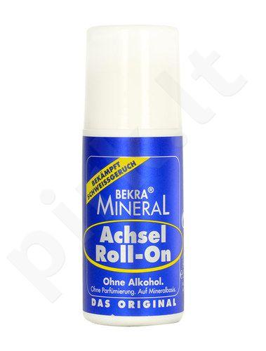 Bekra Mineral dezodorantas Roll-On, kosmetika moterims ir vyrams, 50ml