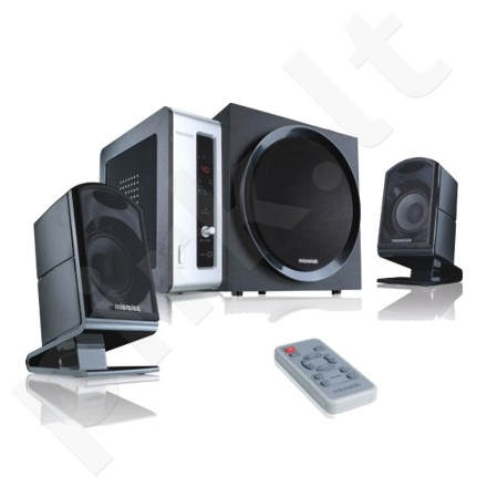 Microlab FC-550 2.1 Speakers/ 54W RMS (15Wx2+24W)/ Remote Control/ Amplifier