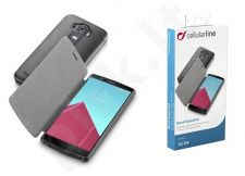 LG G4 dėklas BOOK ESSEN Cellular juodas