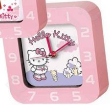 Pastatomas laikrodis-žadintuvas WAKE UP HELLO KITTY CLOCK HK25442