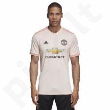 Marškinėliai futbolui Adidas Manchester United M CG0038