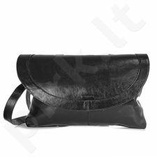 DAN-A T151 juoda rankinė iš natūralios odos , moteriška