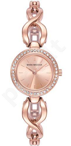 Moteriškas laikrodis MARK MADDOX – Pink Gold. 24 mm. kvarcinis WR 30 meters