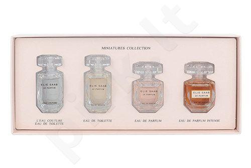Elie Saab Le Parfum Mini set rinkinys moterims, (7,5 ml EDP Le Parfum + 7,5 ml EDT Le Parfum L´eau Couture + 7,5 ml EDT Le Parfum + 7,5 ml EDP Le Parfum Intense)