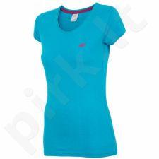 Marškinėliai 4f W T4Z16-TSD001 mėlyna