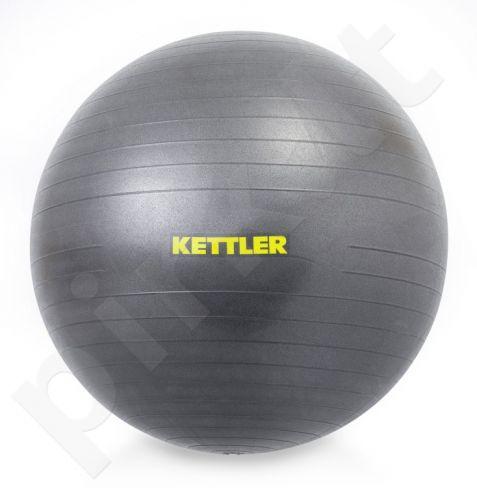 Gimnastikos kamuolys GYM BALL BASIC 75cm black
