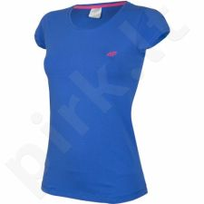 Marškinėliai 4f W H4L17-TSD002 mėlyna