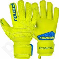Pirštinės vartininkams Reusch Fit Control MX2 żółte 3970135-583
