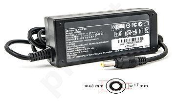 Notebook power supply ASUS 220V, 24W: 9.5V, 2.5A