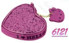 Piniginė HELLO KITTY HEART Pink 12x10 cm P6121