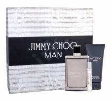 Jimmy Choo Jimmy Choo Man, rinkinys tualetinis vanduo vyrams, (EDT 100 ml + EDT 7,5 ml + balzamas po skutimosi 100 ml)