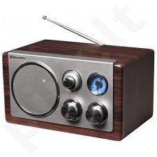 Medinė retro radija su USB Roadstar HRA-1325US/BK