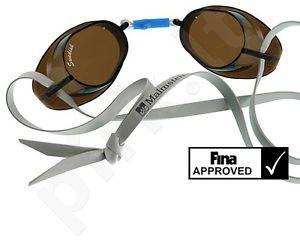 Plaukimo akiniai Swedish standart 99223 11 grey