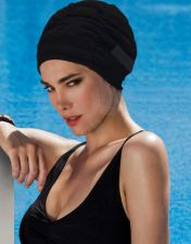 Kepuraitė plaukimui Fabric Swim PE  3401 20 black