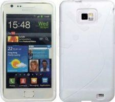 Samsung Galaxy S2 dėklas SILICON Forever baltas