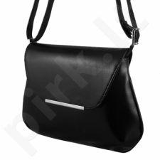 DAN-A T81 juoda rankinė iš natūralios odos , moteriška