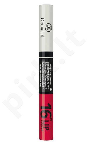 Dermacol ilgai išliekantis lūpų dažai, kosmetika moterims, 4,8g, (6)