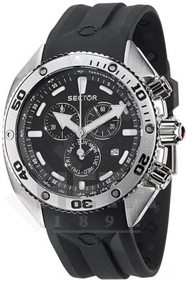 Laikrodis Sector   Ocean Master Marine. 1/10 second chronografasgrafas. 45mm. 20 ATM