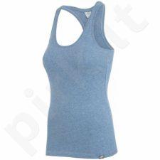 Marškinėliai 4f W H4L17-TSD001A mėlynas melanż