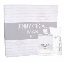Jimmy Choo Jimmy Choo Man Ice, rinkinys tualetinis vanduo vyrams, ( EDT 100 ml + balzamas po skutimosi 100 ml + EDT 7,5 ml)