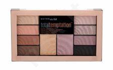 Maybelline Total Temptation, Shadow + Highlight, akių šešėliai moterims, 12g