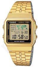 Laikrodis CASIO   A-500WGA-1 Vintage World Time   Map Display **ORIGINAL BOX**