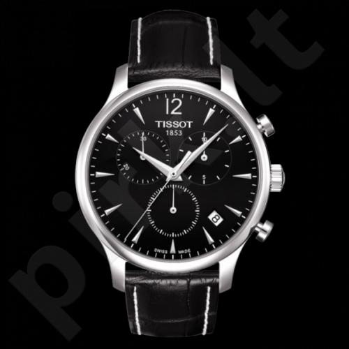 Vyriškas laikrodis Tissot Tradition Chronograph T063.617.16.057.00