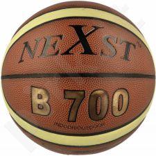 Krepšinio kamuolys Nexst B700 su tinkleliu i igłą