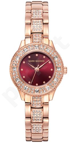 Moteriškas laikrodis MARK MADDOX – Pink Gold. 27 mm. kvarcinis WR 30 meters
