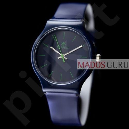 Mėlynas moteriškas Perfect laikrodis PF50M