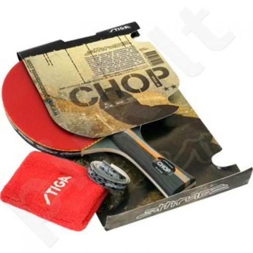 Raketė stalo tenisui STIGA Chop** + riešinė