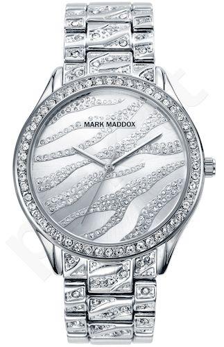 Moteriškas laikrodis MARK MADDOX – Trendy Silver. 38 mm. kvarcinis WR 30 meters