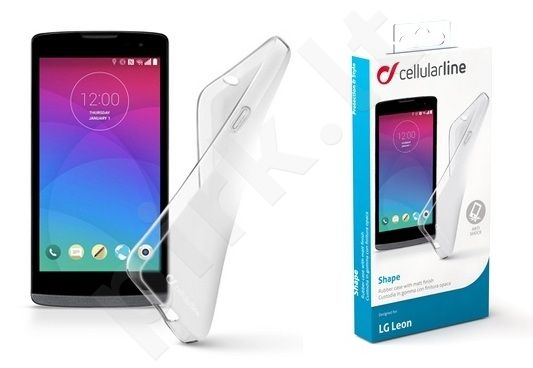 LG Leon dėklas SHAPE Cellular permatomas