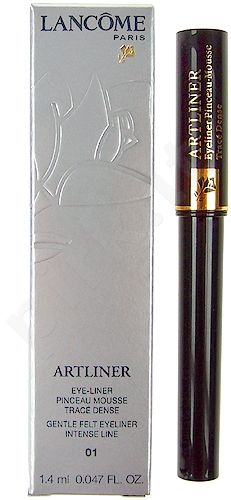 Lancome Artliner akių kontūrų priemonė Noir 01, kosmetika moterims, 1,4ml, (Noir 01 Black)