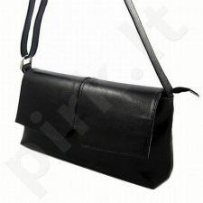 DAN-A T71 juoda rankinė iš natūralios odos , moteriška
