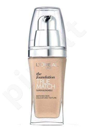 L´Oreal Paris True Match Super Blendable Foundation, kosmetika moterims, 30ml, (D3-W3 Golden Beige)