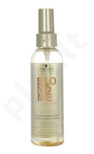 Schwarzkopf Blond Me Shine Enhancing purškiamas kondicionierius, kosmetika moterims, 150ml