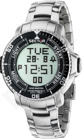 Laikrodis Sector   Dive Master Marine. Digital multifunction. 48mm.
