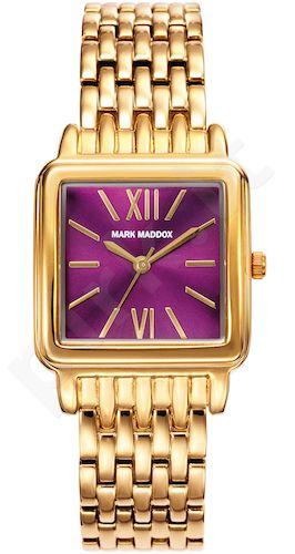 Moteriškas laikrodis MARK MADDOX – Golden chic. 22x22 mm. kvarcinis WR 30 meters