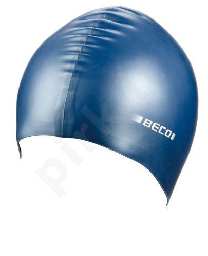 Kepuraitė plaukimui unisex silik. 7397 6 blue (N.)