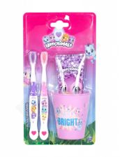 Hatchimals Hatchimals, rinkinys dantų šepetėlis vaikams, (Toothbrush 2 pcs + Tooth Paste 75 ml + Toothbrush Cup)