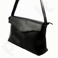 DAN-A T72 juoda rankinė iš natūralios odos , moteriška