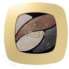 L´Oreal Paris Color Riche Quad akių šešėliai, kosmetika moterims, 2,5ml, (E5 Velours Noir)