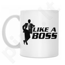 "Puodelis ""Like a boss"""