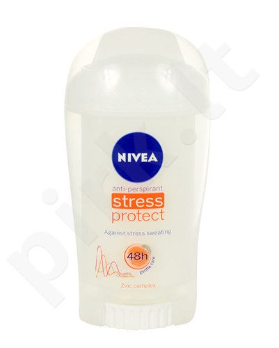 Nivea Stress Protect antiperspirantas Stick 48H, kosmetika moterims, 40ml
