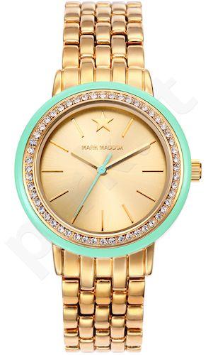 Moteriškas laikrodis MARK MADDOX – Golden chic. 34 mm. kvarcinis WR 30 meters