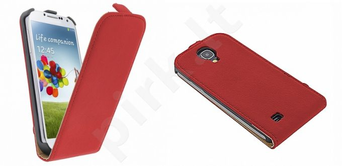 Samsung Galaxy S4 dėklas EXCLUSIVE GT raudonas