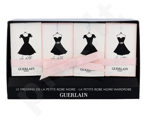 Guerlain La Petite Robe Noire Mini set rinkinys moterims, (2x5ml EDP La Petite Robe Noire + 2x5ml EDT La Petite Robe Noire)