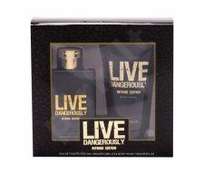 Live Dangerously Intense Edition, rinkinys tualetinis vanduo vyrams, (EDT 100 ml + dušo želė 150 ml)